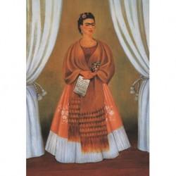 Poster Frida Art 11 cm 35x50 Papiarte stampa da falso d'autore