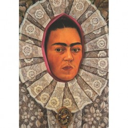Poster Frida Art 12 cm 35x50 Papiarte stampa da falso d'autore