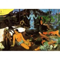 Poster Gauguin Art 03 cm 50x70 Papiarte stampa da falso d'autore